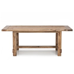 Industrial*2000 - Dining Table - Recycled Pine/Weathered Pine